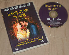 Shakespeare in love - Gwyneth Paltrow; Ben Affleck (DVD; 1999) *VENDITA*.