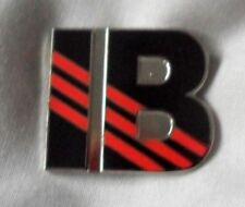 *NEW* Ian Brown 'IB' enamel badge. Ripples, Stone Roses,Adidas,Mod,Tickets,Oasis