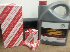 TOYOTA AVENSIS 1.8 7AFE AIR + OIL FILTER + SPARK PLUGS +OIL SERVICE KIT 98-00