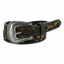 New Ariat Girl's Leopard Print Western Belt