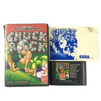 Chuck Rock Sega Mega Drive Game Complete In Case With Manual PAL OZI SOFT