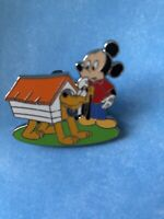 Disney Pin Pluto 90th Anniversary Mystery Box Mickey Mouse and Doghouse LE 1000