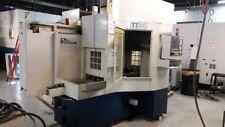 Milltronics Tt24 Twin Table Bridge Type Machining Center 24hp 10000 Rpm