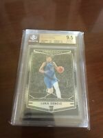 2018-19 Chronicles Luka Doncic Obsidian Preview BGS 9.5 Rookie Quad 9.5 Subs RC