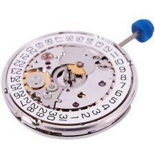 for ETA 2824-2 SELLITA SW200 White 3H Mechanical Watch Clock Movement J6E1