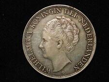 1944 D Curacao 2 1/2 Gulden XF+  KM #46