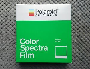 POLAROID SPECTRA Color Instant Film from 2019 - LAST PRODUCTION YEAR