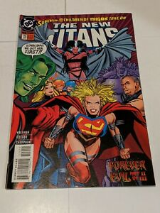 The New Titans #120 April 1995 DC Comics Wolfman Rosado Champagne