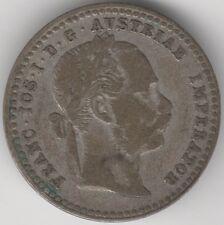 More details for 1871 austria silver 10 kreuzer   pennies2pounds