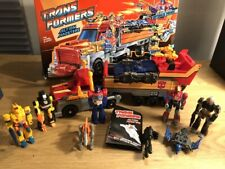 Transformers G1 Action Masters 1990: Armored Convoy - Truck 100% komplett + OVP