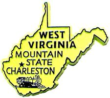 West Virginia the Mountain State Souvenir Fridge Magnet