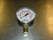 """New listing Enerpac, 2515L, 0-1000 Psi, 2-1/2"""" Dry Gauge Obsolete From Enerpac 1/4Npt, Nos"""
