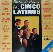 Los Cinco Latinos Exitos De Oro Vol II Pop Rock CD ORFEON 1991
