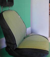 coppia schienale estivo fresco coprisedile auto universale paglia verde m. italy