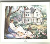 Paula Vaughan Peaceful Afternoon Print Limited Edition Signed COA 672 of 1200