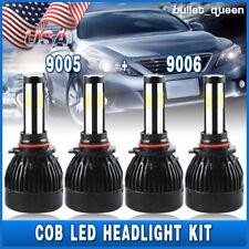 4x 9005 9006 LED Headlight Kit for Honda Accord Coupe Sedan 1995-2007 Hi/Lo Beam