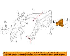 FORD OEM Quarter Panel-Filler Pocket 9E5Z5427936A