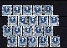 Liechtenstein - 20 x Nr. 74 o  -  KW ** 160,-- €  ( 25462 )