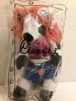 2007 Chick - Fil - A *Gimme Chikin One Mor Time* plush~Orange hair !!RARE!!READ!