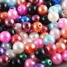 HOT Wholesale Lots Bulk 500pcs Multicolor Round Pearl Imitation Glass Bead 4mm