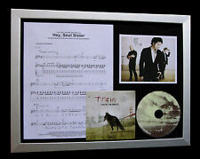 TRAIN Hey Soul Sister LTD CD MUSIC QUALITY FRAMED DISPLAY+EXPRESS GLOBAL SHIP