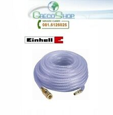 Tubo aria compressa retinato/armato alta pressione ad innesto rapido in PVC 15m