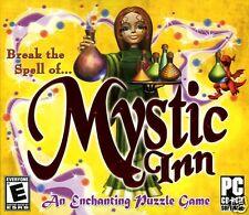 MYSTIC INN:AN ENCHANTING PUZZLE GAME. PLUS 5 MINI GAMES SHIPS FAST & SHIPS FREE.