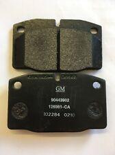 MDB1141/90443902 Genuine Front Brake Pad Set Astra Nova.