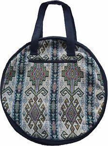 Schultertasche Orient Indianer Antik Damen Tasche gewebt rund 15166