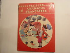Vieilles Chansons Francaises, Touret, Old French Songs, 1960s?