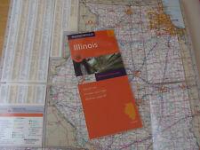Rand McNally Illinois Highways & Interstates EasyFinder Road Map NEW laminated