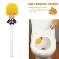Trump Toilet Brush Cleaner Bathroom Nightstool Groove Sink Cleaning Trench C0P7