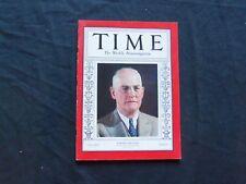 1935 NOVEMBER 4 TIME MAGAZINE - JAMES A. MACAULEY - T 493