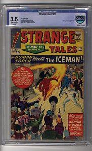 Strange Tales # 120 - CBCS 3.5 OW/White Pages - X-Men, FF & Doctor Strange
