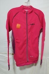 Louis Garneau Women's Thermal Pro Jersey Large Pink Glow