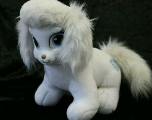 BUILD-A-BEAR Disney Princess Cinderella's Palace Pet Dog White Sparkly 30cm (D3)