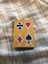 Pinochle Playing Cards ~ Plastic Coated ~ Give-a-way from Funeral Home ~ New