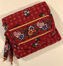 Vera Bradley Provincial Red Vintage Pocket Wallet: Great Stocking Stuffer Gift