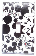 Mickey Mouse Faces Light Switch Cover Bathroom Bedroom Kitchen Wall Decor