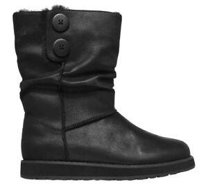 Skechers 2.0 Upland Mid Calf Black Boots [1980] UK 7 EU 40 (RRP £69.99)