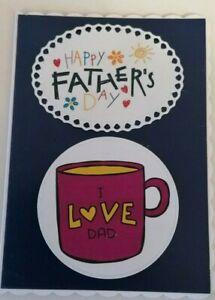 Fathers Day Greeting Card Handmade Card dad, father, husband,  boyfriend, Pops