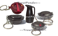 Tupperware Keychains Lot Ultra Pro Casserole Carafe Heat N Serve Pressure Cooker