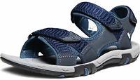 ATIKA Men's Outdoor Hiking Sandals, Open Toe  Athletic Trail Sport Sandals