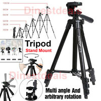 Tripod Stand Mount For Digital Camera Camcorder SLR DSLR Holder Phone iPhone UK