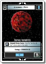 Star Trek CCG Introductory 2 Player Game Survey Instability