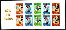 2004 France Disney Mickey Minnie Donald Duck Booklet MNH