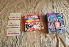 1991 Adams Family Ralston Cereal Tombstone Pizza Box 1965 Game Card Lot