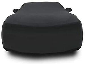 Custom For 2010-2019 Chevy Camaro Sport Luxury Stretch Satin Cashmere Car Cover