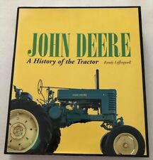 Hardcover.  John Deere A History Of The Tractor by Randy Leffingwell. Great Book
