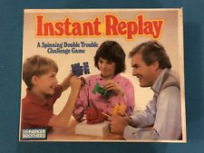 INSTANT REPLAY VINTAGE PARKER BROTHERS GAME 1987 COMPLETE FREE SHIPPING!